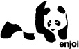 Enjoi Skateboards Panda Complete 7.75