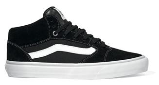 1e3b1628a9 Vans Shoes TNT 5 Mid - Black White